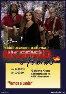 NICEFIELD & Friends LIVE in Darmstadt