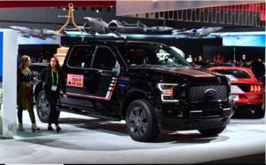 ' Amerika first ' mit Ford Pick Up