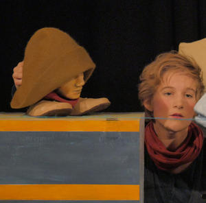 Theater Miamou Berlin 'Das Versteck' Kindertheaterfestival Lampenfieber