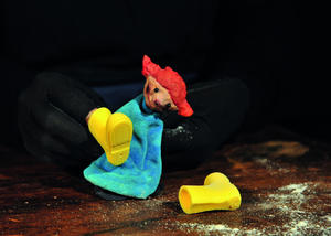 Figurentheater Unterwegs 'Die Sachenfinderin'  Kindertheaterfestival Lampenfieber