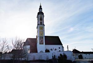 Die Kirche von Merching