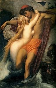 Frederic Leighton: The fisherman and the Syren