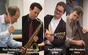 Musikschule Wertingen: The Rick Hollander Quartet featuring Brian Levy