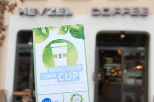 Bring your own Cup - Aktion gegen Coffee-to-go-Becher startet durch