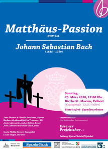 Matthäuspassion in St. Marien