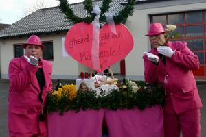 Fasching 2018-think pink!