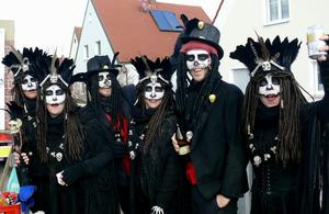Fasching 2018- Black and Beautyful