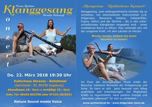 Nature Sound meets Voice mit Klanggesang