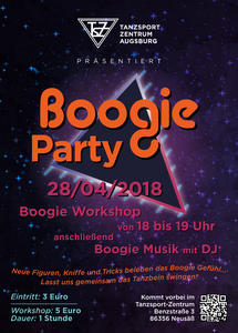 Boogie Party im Tanzsport-Zentrum in Neusäß