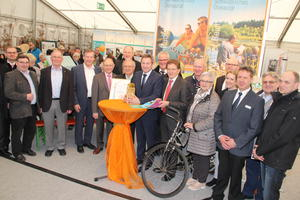 "Präsentation des ADFC-Awards ""Goldenes Pedal"" in der Region"