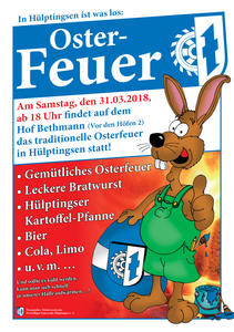 Osterfeuer 2018 in Hülptingsen