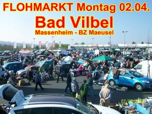 FLOHMARKT in Bad Vilbel Massenheim