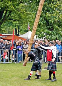 Highland Gathering in Peine