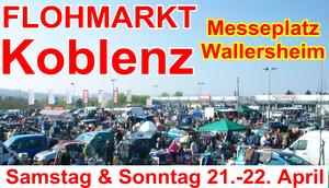 FLOHMARKT am Messeplatz in KOBLENZ