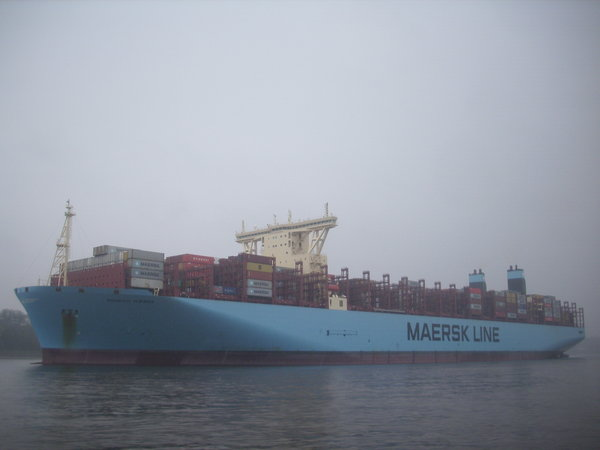 containerschiff, maersk