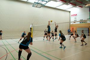 Wo sind all die Volleyballerinnen?