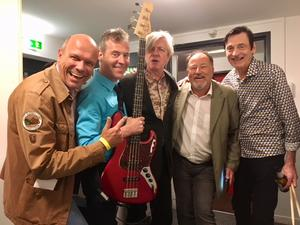 New York meets Allgäu: The Fleshtones & Käs änd Roll :-) :-) :-) :-) :-)!