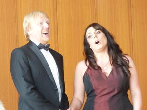 Das Duo Voice Passion Lauren Francis und Franz Garlik