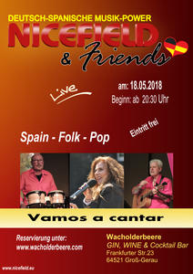 'Vamos a cantar' mit NICEFIELD & Friends in Gross-Gerau