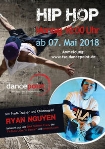 Hip Hop im dancepoint mit Top-Trainer Ryan Nguyen