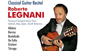 Roberto Legnani in Stuttgart - Virtuose Gitarrenmusik