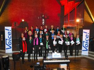 Gospelgottesdienst in Corvinus mit Voice!