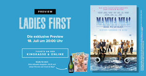 Ladies First Sektpreview: Mamma Mia 2
