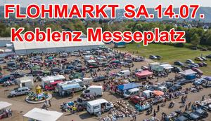 FLOHMARKT in Koblenz am Messeplatz