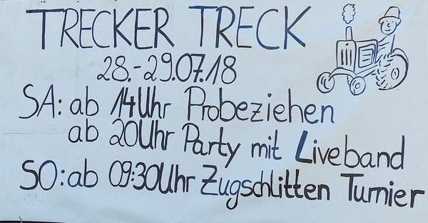 Trecker Treck in Seershausen 2018