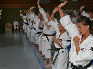 Deutsches Shorinji Kempo Trainings-Camp 2018 in Bliensbach