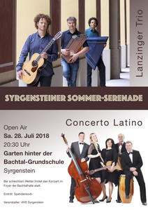 Syrgensteiner Sommer-Serenade, Open Air