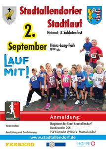 32. Stadtlauf in Stadtallendorf am 02. September 2018