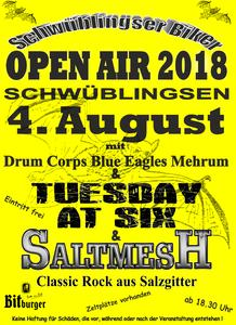 OPEN AIR am 04.08.2018 in Schwüblingsen