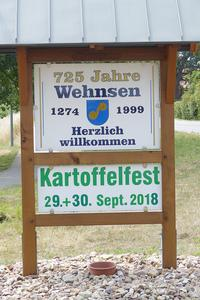 Kartoffelfest am 29. bis 30. September 2018