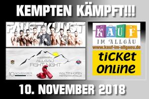 Kempten kämpft am 10. November 18