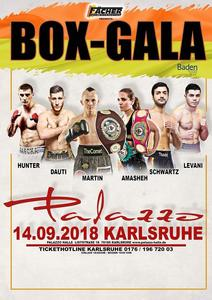 'No Mercy'-Fight am 14.9. 18 in Karlsruhe