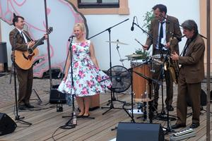 Lady Sunshine & the Candy Kisses sind Lieblinge des Celler Publikums