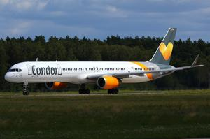 Take Off einer Condor 757-300