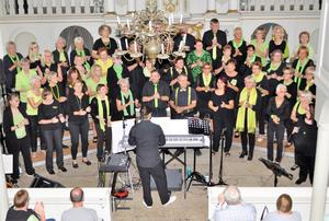 Gospelchor Swinging Church in der Osterwalder Barockkirche