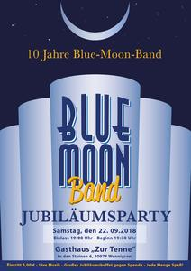Jubiläumsparty Blue Moon Band