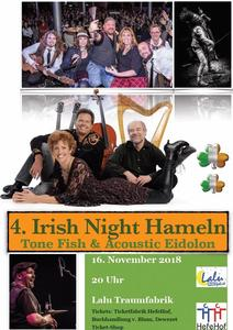 4. Irish Night mit Tone Fish & Acoustic Eidolon