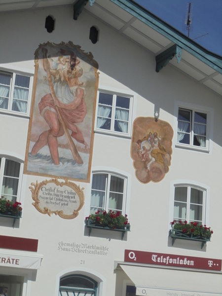 Lüftelmalerei in Bad Tölz!