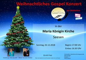 Gospelkonzert zum 1. Advent