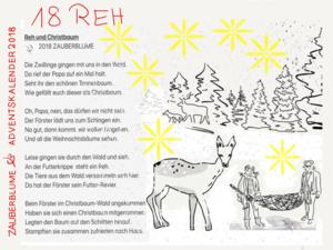 Adventskalender 18.12.2018 18. Türchen