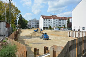 Baustelle am Schuster-Areal