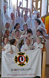 Shorinji Kempo Kinder-Trainingslager in Violau