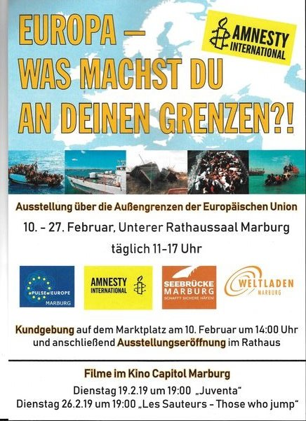 marburg, ausstellung, europa, pulse-of-europe, rathaussaal