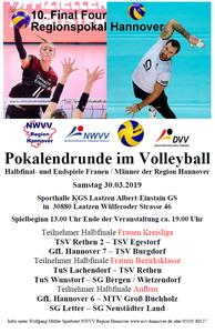 TSV Burgdorf Volleyball - 10. Final Four Regionspokal