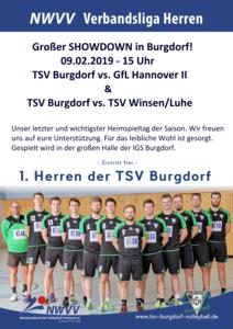 TSV Burgdorf Volleyball - Showdown in Burgdorf