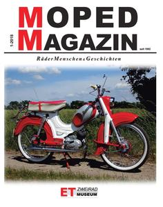 MOPED-MAGAZIN 2018 erschienen